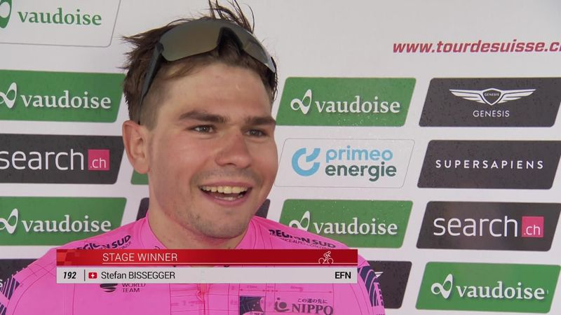 Stefan Bissegger really happy to get a home win in Switzerland