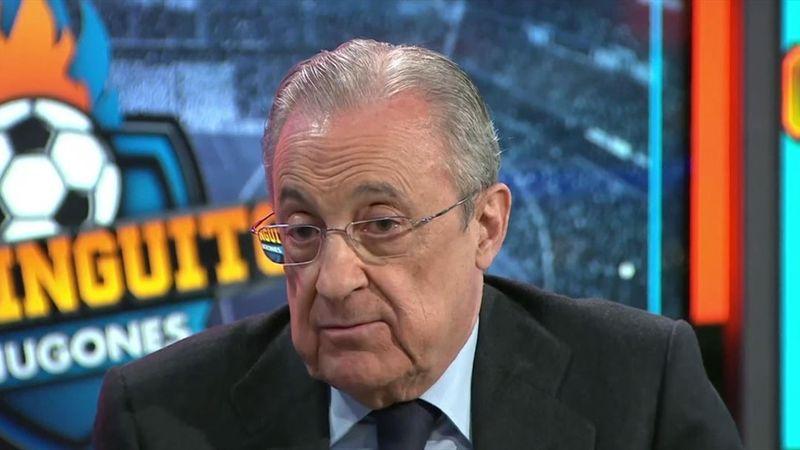"""Florentino, sobre Mbappe: """"Me dicen que le fiche y les digo 'tranquilos"""""""