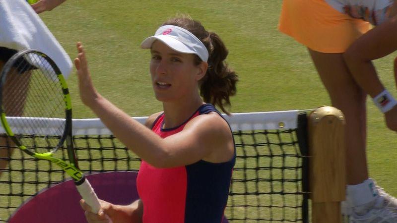 WTA Nottigham: Johanna Konta-Ashleigh Barty, gli highlights