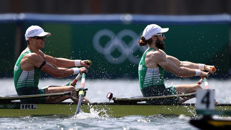 Tokyo 2020 | Ierse mannen goud, zilver voor Duitsland op Skiff dubbeltwee mannen