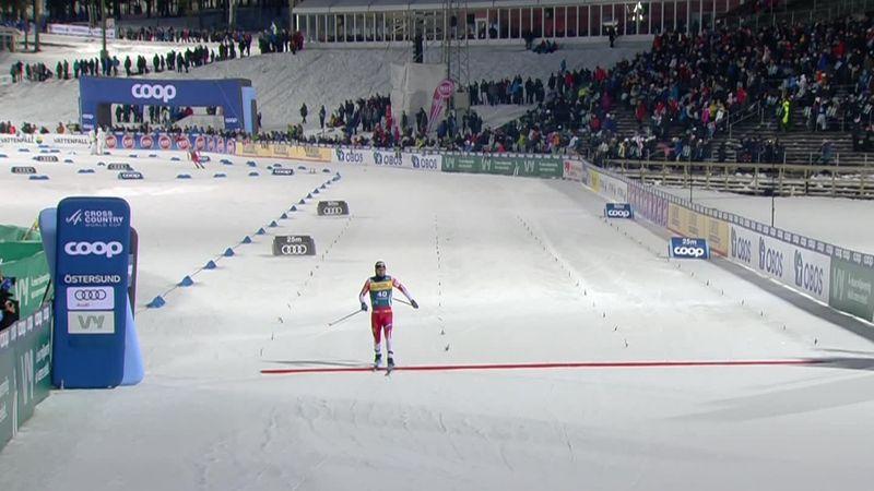 Esquí de fondo, Copa del Mundo: Los noruegos colonizan Östersund