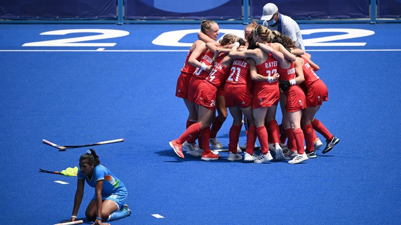 Trotz Aufholjagd: Indien verliert Duell um Bronze gegen Großbritannien