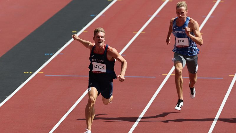 Mayer débute bien son décathlon avec un bon 100m : sa course en vidéo