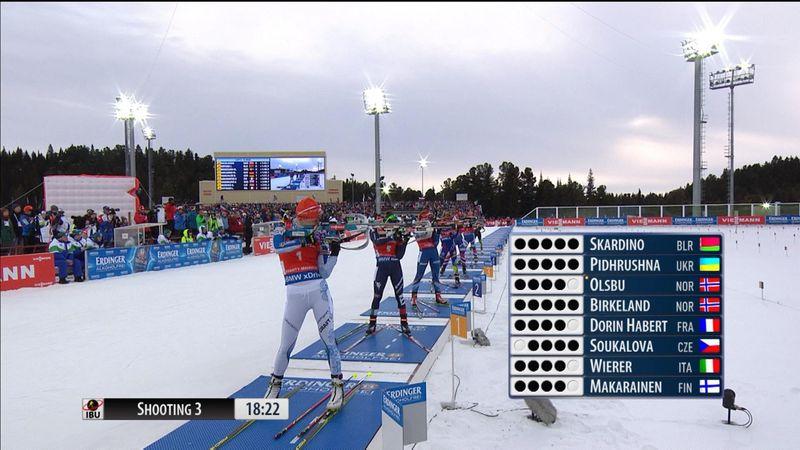Makarainen wins women's pursuit in Khanty-Mansiysk