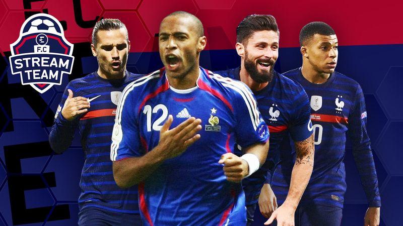 Giroud, Griezmann, Mbappé (ou Henry) : Qui finira meilleur buteur de l'histoire des Bleus ?