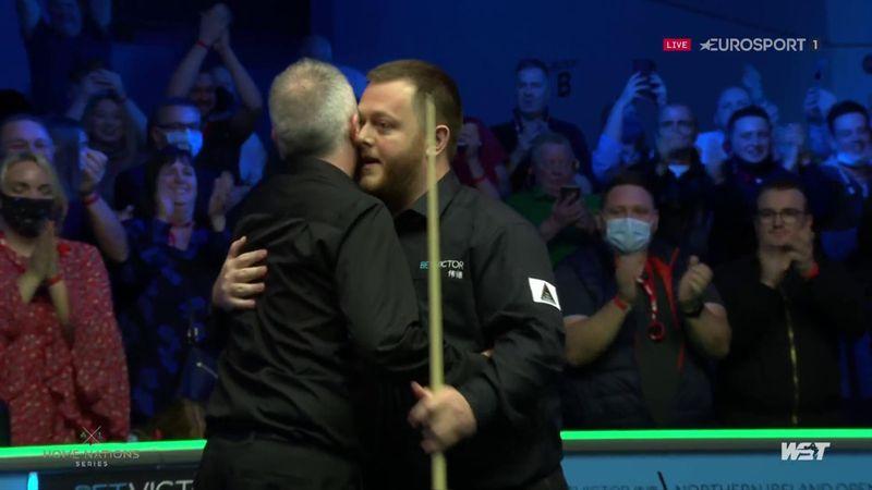 Late crowd drama as Allen wins Northern Ireland Open