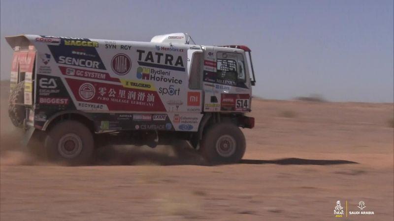 DakarRally highlights, trucks - Macik wins Stage 9, Sotnikov retains handsome lead
