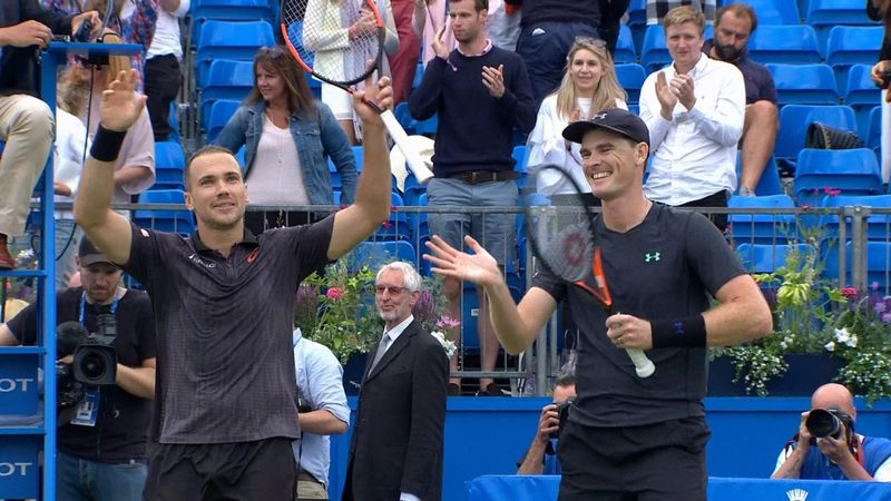 Highlights: Murray and Soares claim doubles crown