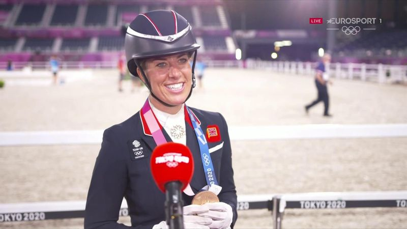 'I'm actually speechless!' - Dujardin overwhelmed with history-making bronze