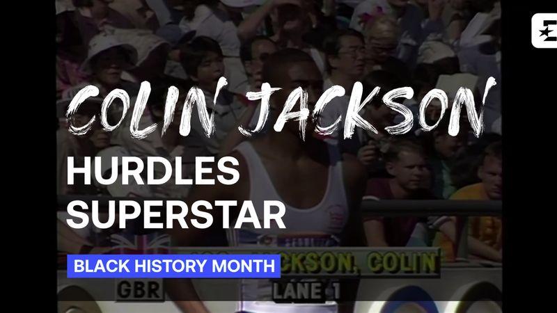 Black History Month: Colin Jackson - Hurdles Legend