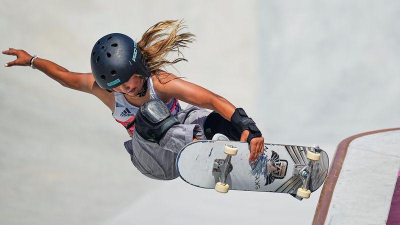 Skate-Star meets Rockstar: Sky Brown trifft Yungblud
