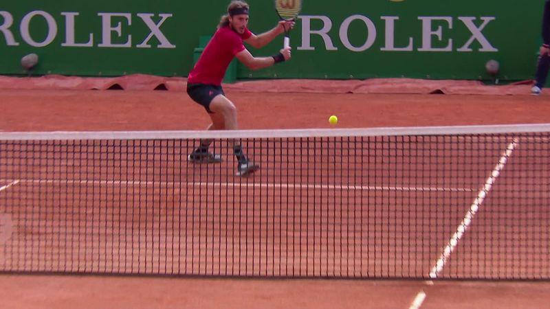 ATP Monte Carlo: Tsitsipas – Garin összefoglaló