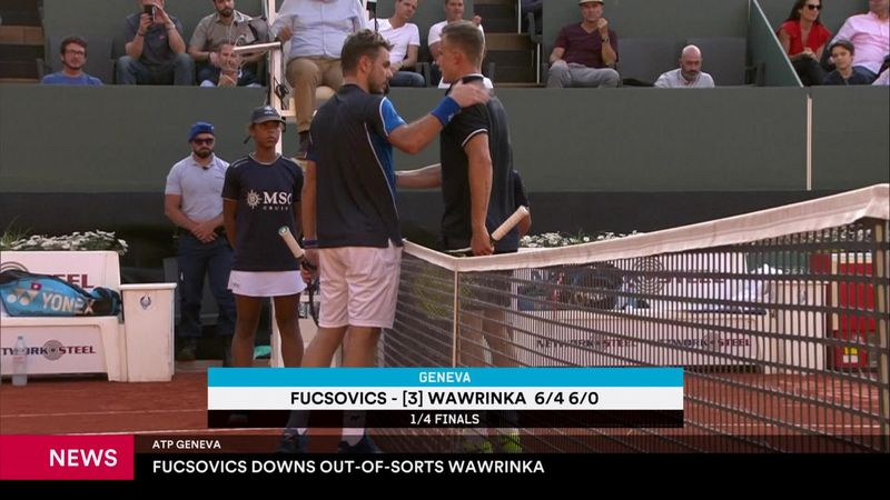 Wawrinka eliminato nel torneo di casa a Ginevra