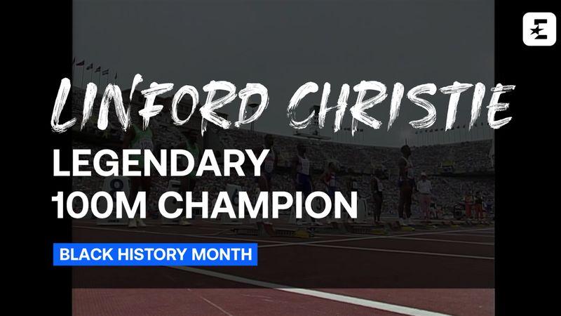 Black History Month: Linford Christie - Sprint Royalty