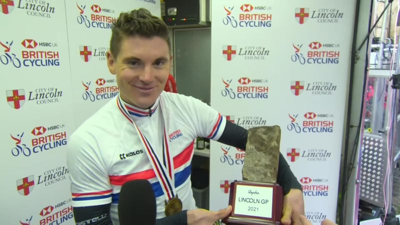 'I'm over the moon' - Swift delighted at defending British National Championships title
