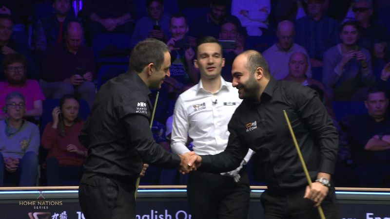 English Open : Finish O'Sullivan v  Vafaei