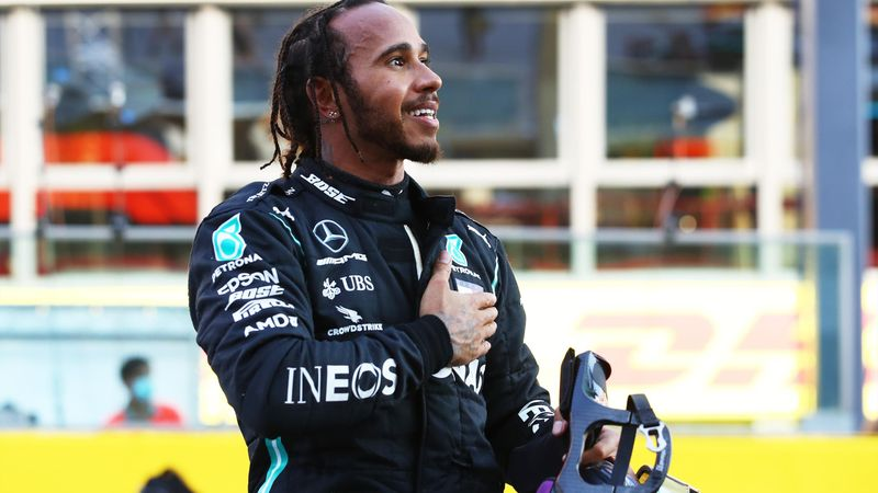 History-maker: Hamilton levels Schumacher's incredible record