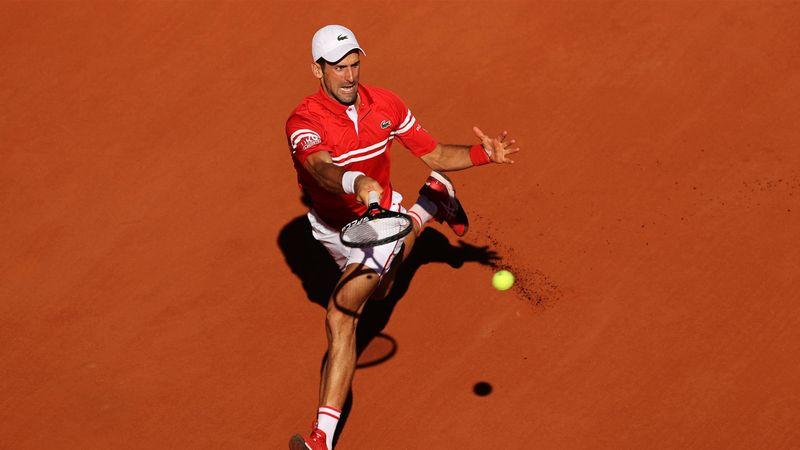 'He's the favourite' - Djokovic roars back to take Tsitsipas to deciding set