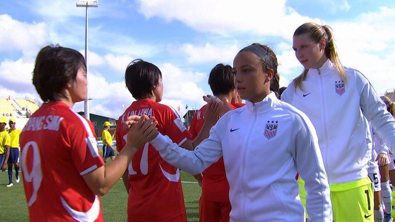 Mondiale U20 femminile: Corea del Nord-Stati Uniti 2-1, gli highlights