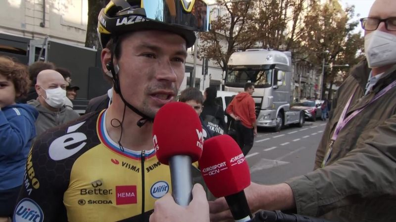 'It's tougher when you don't have the legs!' – Roglic after Il Lombardia fourth-place finish