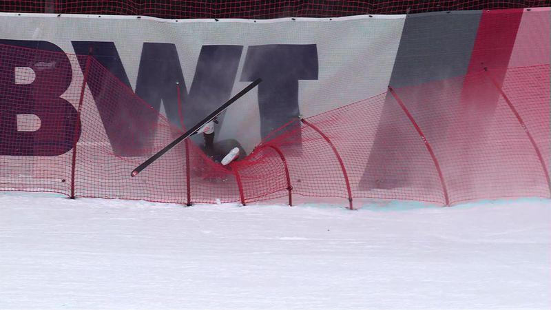 Kitzbühel: Netten doen zijn werk bij crash Cochran-Siegle