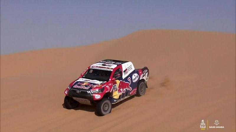Dakar Rally highlights, cars - Al-Attiyah closes gap to Peterhansel on Stage 3