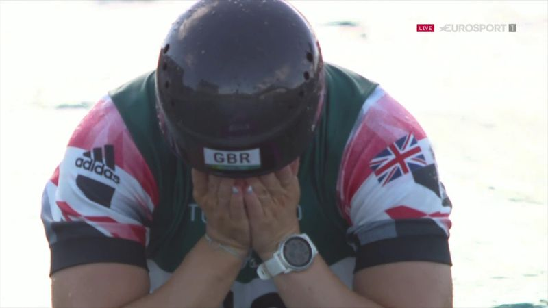 'She can be very proud' - GB's Woods devastated after slalom struggle