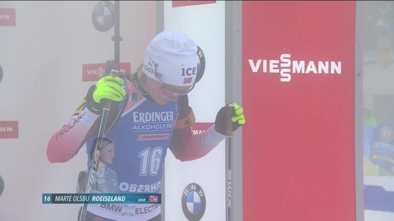 Biatlon | Roeiseland de snelste over 7.5km