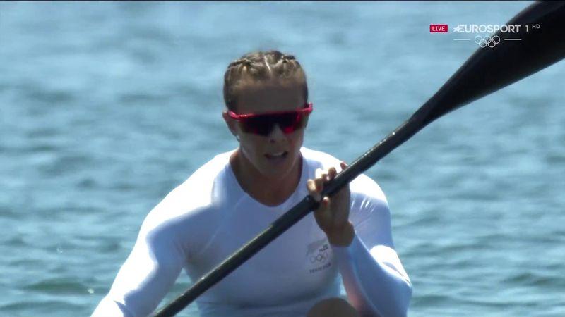 Jocurile Olimpice: Lisa Carrington a câștigat aurul olimpic la canoe sprint 500m