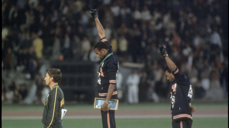 The remarkable story behind the 1968 Olympics Black Power salute