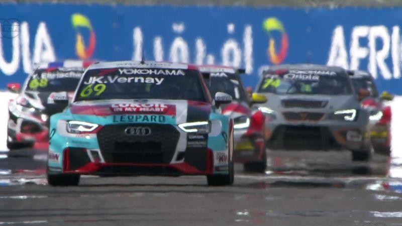 Jean-Karl Vernay powers to victory in Race 2