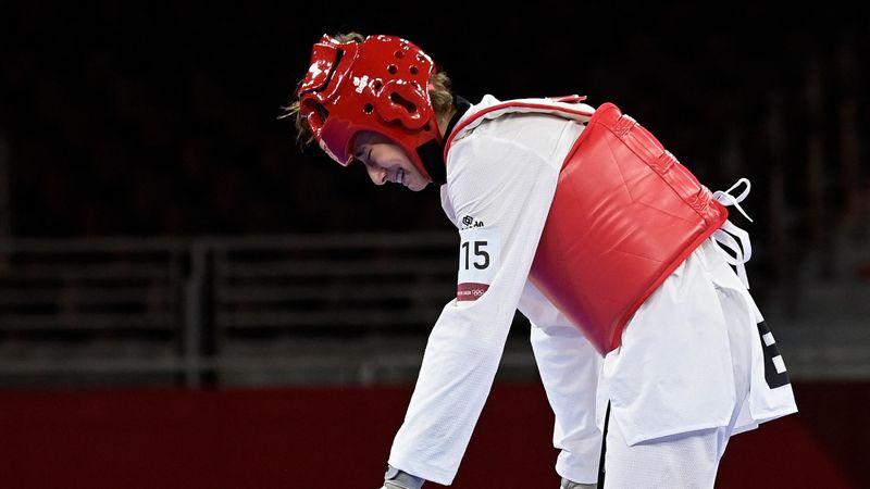 Taekwondo | Adriana Cerezo se cuelga una agridulce medalla de plata