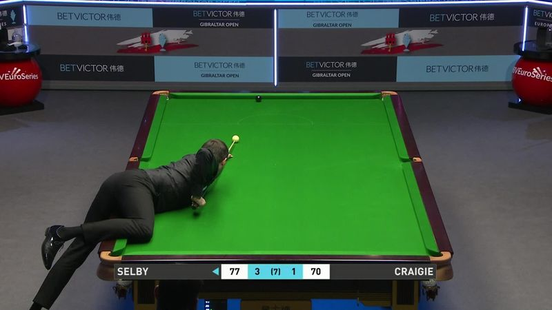 Selby finally closes out match after marathon on black against Craigie