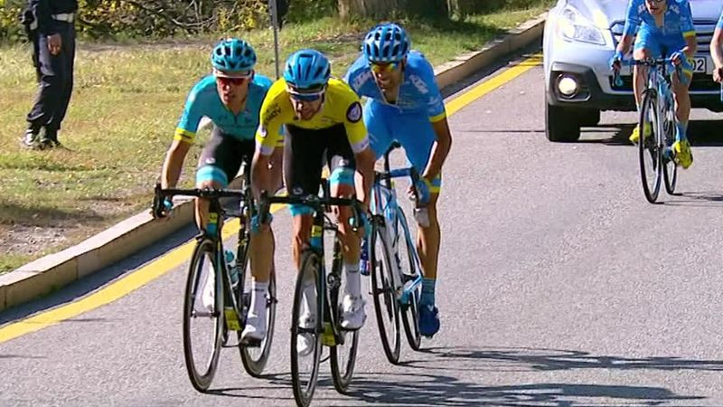 Sanchez leads Astana to home victory