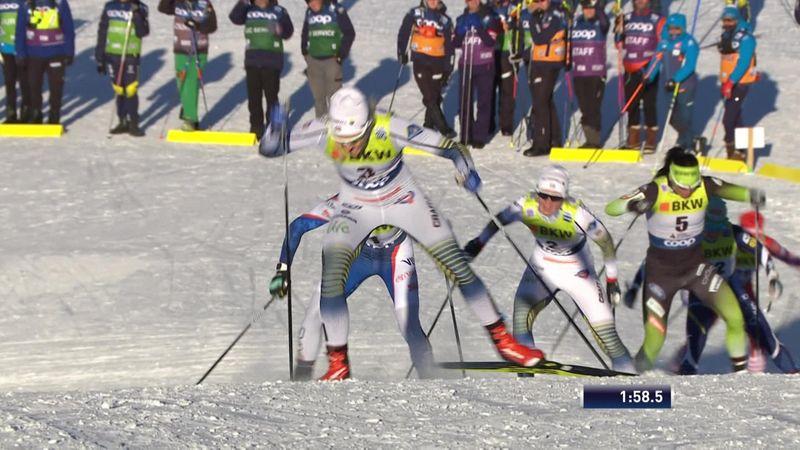 Wereldbeker sprint | Olympisch kampioen Stina Nilsson snelste in Davos