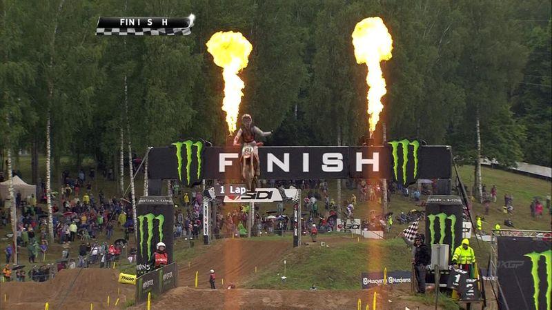 Jorge Prado se exhibe en la segunda carrera de Letonia y termina segundo el MXGP