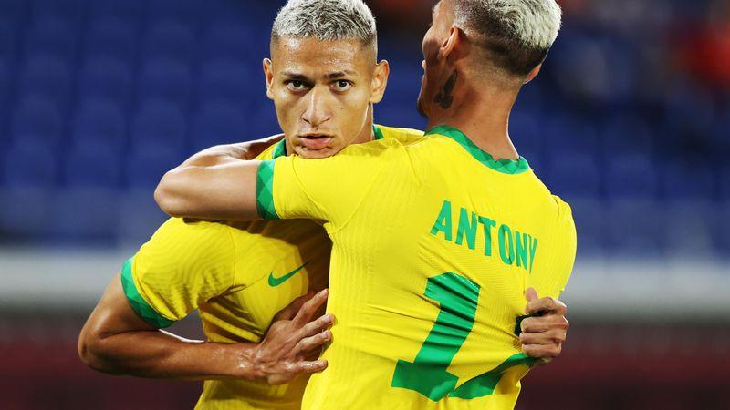 Tokyo 2020 | Braziliaans voetbalelftal heeft aan één helft genoeg tegen Duitsland