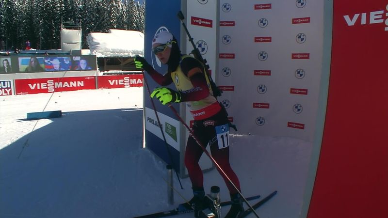 Tiril Eckhoff, aur la Mondialele de biatlon. Al 8-lea titlu pentru norvegiancă