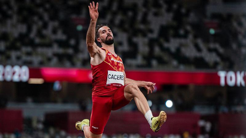 Atletismo | Eusebio Cáceres, a la final de longitud