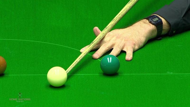'Brilliant piece of ball striking' – O'Sullivan pots great long red
