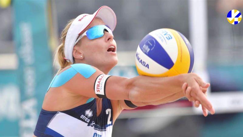 La subcampeona de Europa Barbora Hermannova construye su jugadora de voley playa perfecta