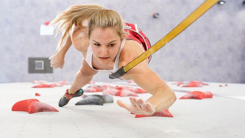 Sportkletter-Favoritin Garnbret zu stark für Österreicherin Pilz