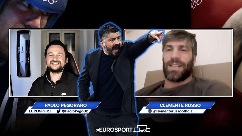 """Clemente Russo: """"Gattuso? Vi spiego perché deve restare a Napoli"""""""