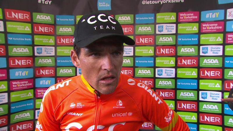 Tour de Yorkshire: Stage 4 - Interview Van Avermaet