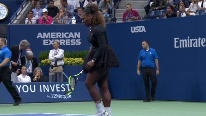 ABD Açık: Serena Williams - Naomi Osaka (Özet)
