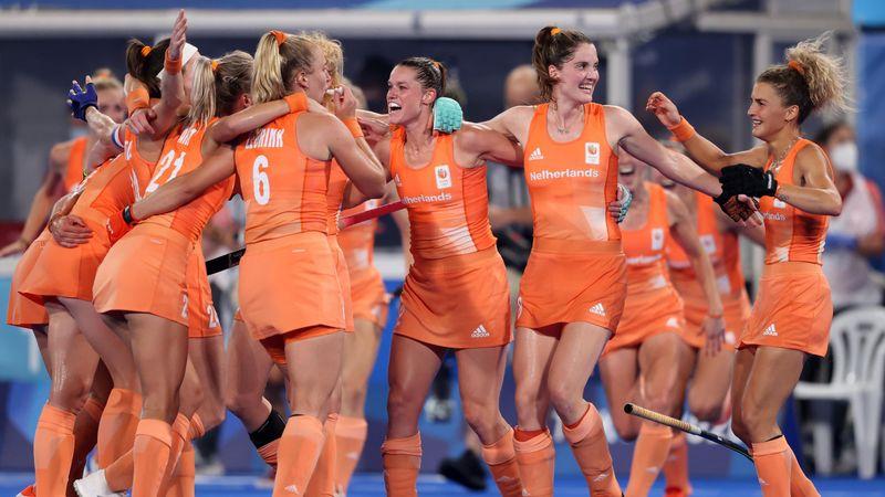 Niederländerinnen ringen Argentinien im Hockey-Finale nieder - Highlights