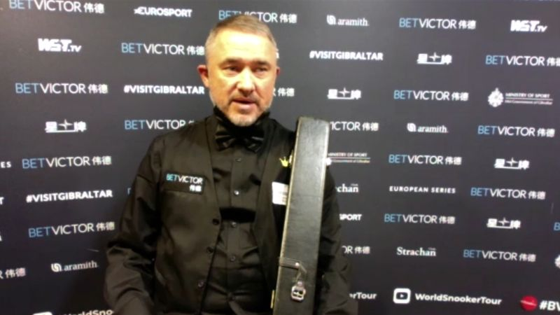 'Not yet' - Hendry knows he has work to do before Crucible test
