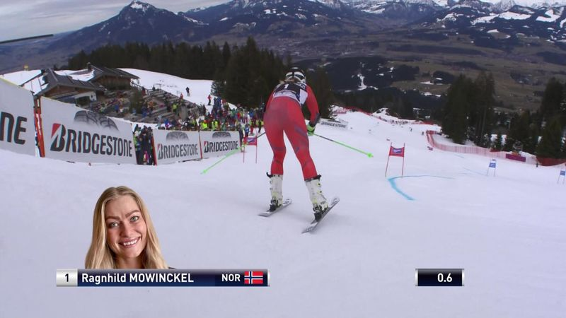 Mowinckel leads after first giant slalom run in Ofterschwang