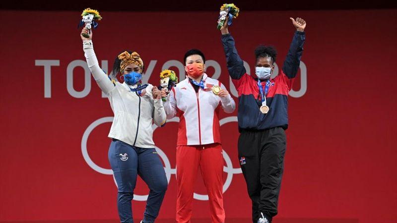 Gold medallist China's Wang Zhouyu - Tokio 2020 - Momentos destacados de los Juegos Olímpicos