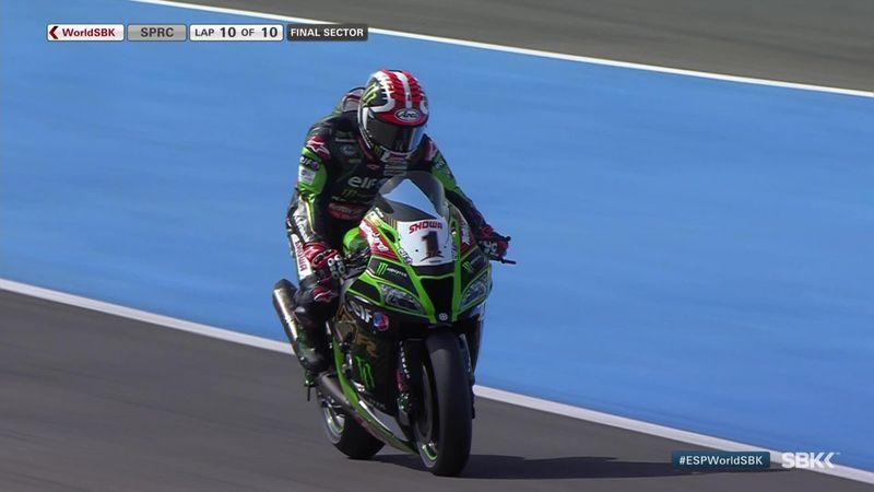 Superbike: Johnny Rea gana en Jerez con aplastante superioridad y Bautista es décimo